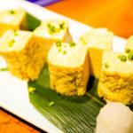 お寿司屋さんの厚焼き卵