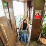 車椅子でもゆとりを持って入店できます♪