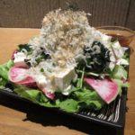 北海道産豆腐サラダ