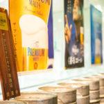 ビールはザ・プレミアムモルツを扱っております。