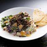 プルドポークとフレッシュ野菜のチョップドサラダ 850円