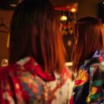 京都ガールズバーならではの素敵な和服♪
